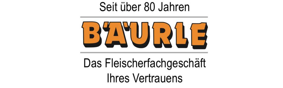 Bäurle Logo, Fleischerfachgeschäft, Metzgerei